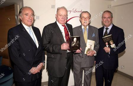 Christopher Foyle, Ned Sherrin, Alan Whicker and Gyles Brandreth