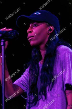 Editorial picture of Angel Haze in concert, Belgrave Music Hall, Leeds, Britain - 13 Jan 2016