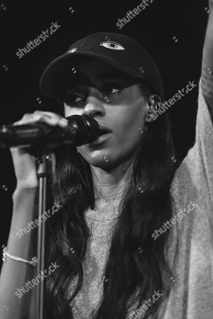 Editorial photo of Angel Haze in concert, Belgrave Music Hall, Leeds, Britain - 13 Jan 2016