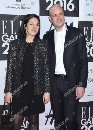 Roberta Alenius and Fredrik Reinfeldt