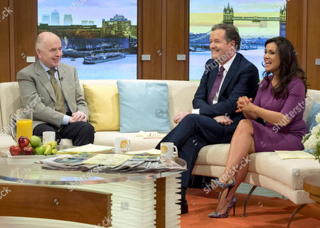 Jack Dromey with Piers Morgan and Susanna Reid