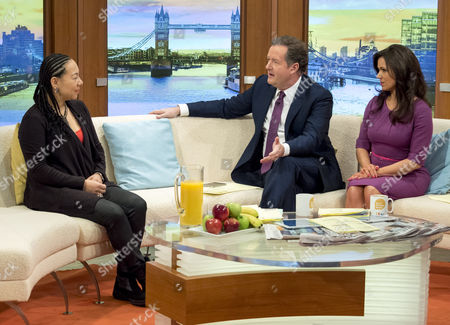 Oona King with Piers Morgan and Susanna Reid