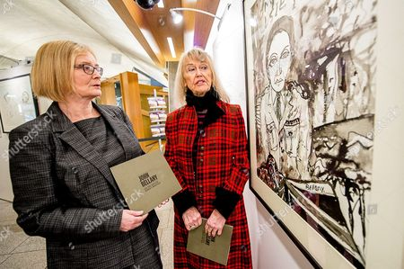 Tricia Marwick, left, and Helen Bellany