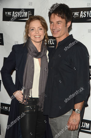Dina Meyer and Patrick Muldoon