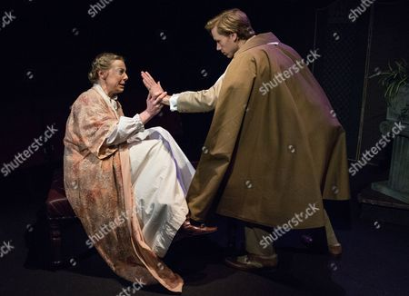 Helen Keeley as Sybil Vane and Guy Warren-Thomas as Dorian Gray