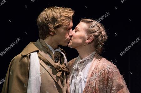Guy Warren-Thomas as Dorian Gray and Helen Keeley as Sybil Vane