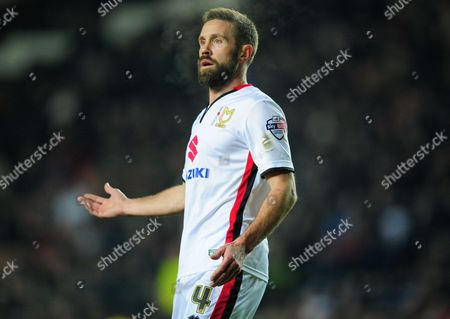 Editorial image of The Emirates FA Cup 2015/16 Third Round Replay MK Dons v Northampton Town MK Dons Stadium, Bletchley, United Kingdom - 19 Jan 2016