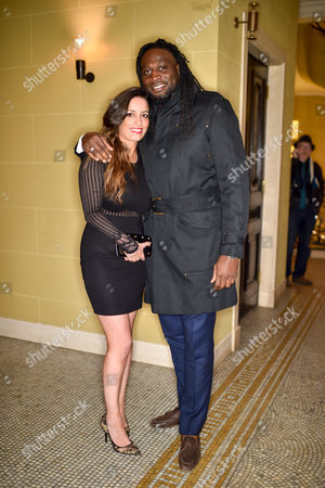 Stock Picture of Layla Stacey and Paul Sackey