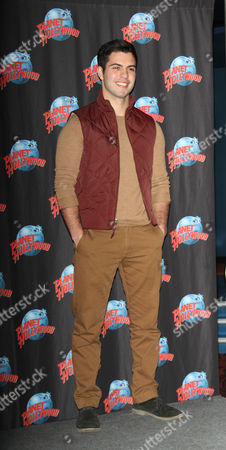 Editorial picture of David Castro at Planet Hollywood, New York, America - 19 Jan 2016