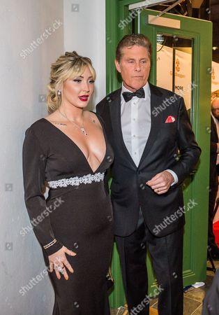 Taylor Ann Hasselhoff and David Hasselhoff