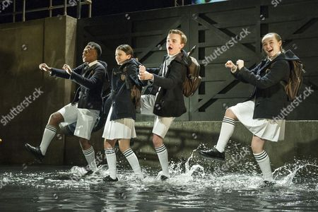 Editorial picture of 'Herons' play by Simon Stephens performed at the Lyric Theatre, Hammersmith, London, UK, 20 Jan 2016