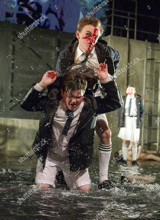 Billy Matthews as Scott, Max Gill as Billy,