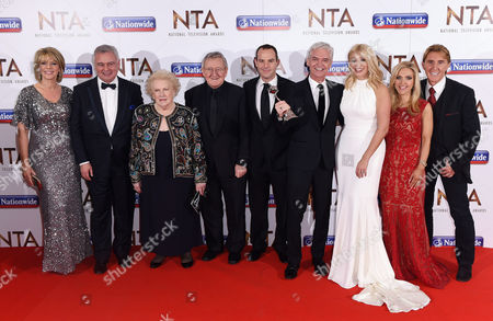 This Morning stars - Ruth Langsford, Eamonn Holmes, Denise Robertson, Dr Chris Steele, Martin Lewis, Phillip Schofield, Holly Willoughby, Eva Speakman and Nik Speakman