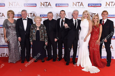 Editorial picture of National Television Awards, The O2, London, Britain - 20 Jan 2016