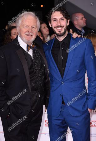 Ian Lavender and Blake Harrison