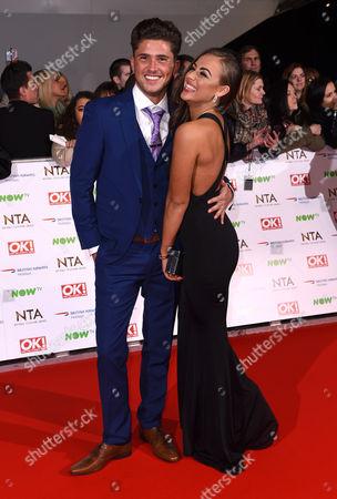 Stock Image of Jordan Davies and Ashleigh Defty
