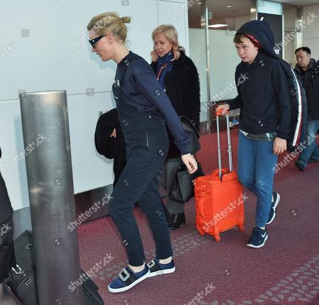 Editorial photo of Cate Blanchett at Tokyo International Airport, Japan - 20 Jan 2016