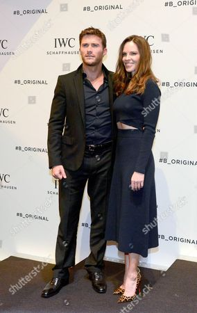 Scott Eastwood and Hilary Swank