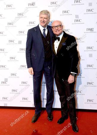 Arsene Wenger und George Kern (IWC-Chef)