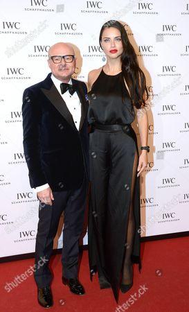 George Kern (IWC-Chef), Adriana Lima