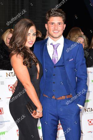 Stock Photo of Jordan Davies and Ashleigh Defty