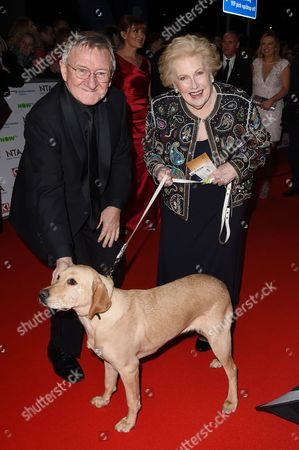 Stock Image of Dr Chris Steele and Denise Robertson