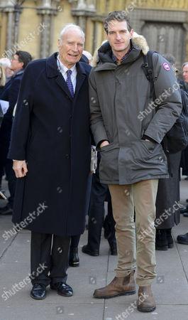 Stock Picture of Peter Snow, Dan Snow