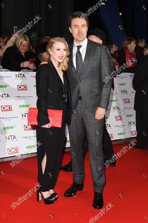 Charlotte Beaumont and Andrew Buchan
