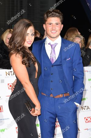 Jordan Davies and Ashleigh Defty