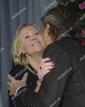 Stock Photo of Agnetha Faltskog with guest
