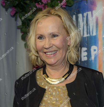 Editorial picture of 'Mamma Mia! The Party' the musical premiere, Stockholm, Sweden - 20 Jan 2016