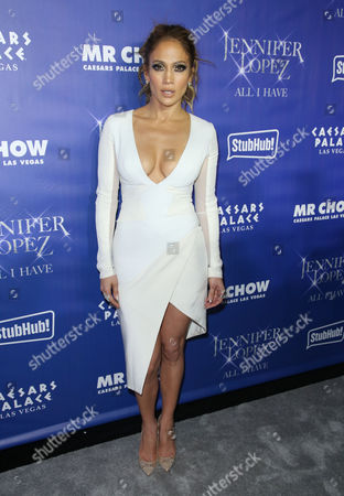 Editorial picture of 'Jennifer Lopez: All I Have' grand opening after party, Las Vegas, America - 20 Jan 2016