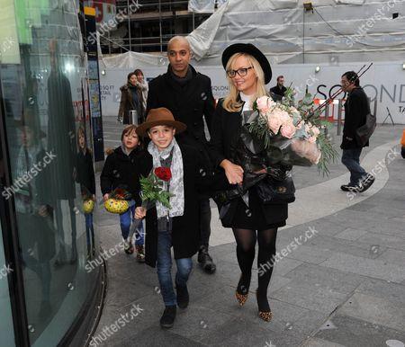 Editorial photo of Emma Bunton celebrates her 40th birthday, London, Britain - 21 Jan 2016