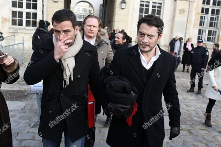 Jerome Kerviel, Benoit Pruvost, David Koubbi appears on his liability in the loss of 4.9 billion Euros incurred by the bank Societe Generale in 2008