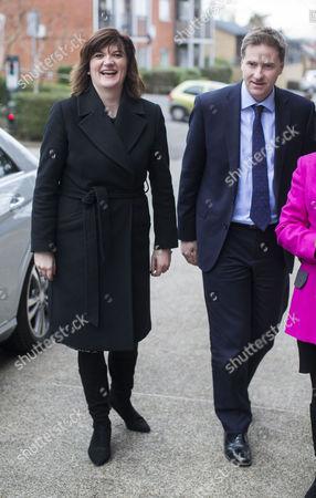 Education Secretary Nicky Morgan and MP for Winchester Steve Brine