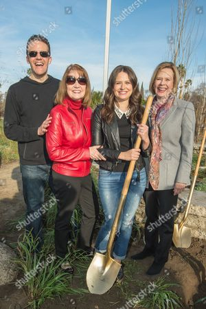 Woody Schultz, Kathy Connell, Katie Lowes and JoBeth Williams