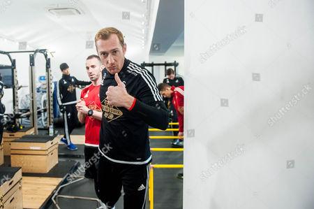 Gerhard Tremmel of Swansea during training