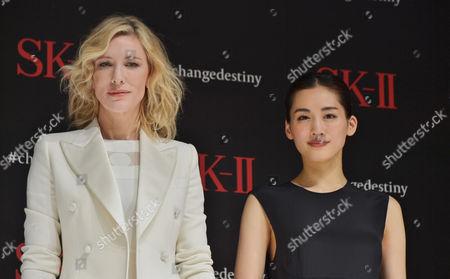 Cate Blanchett and Haruka Ayase