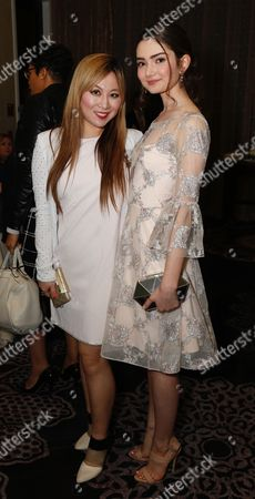 Stock Picture of Alice Aoki and Emily Robinson