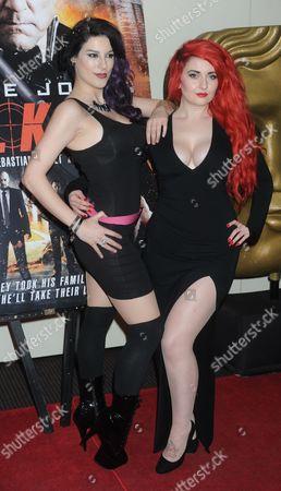 Jasz Vegas and Sarah Kawaii