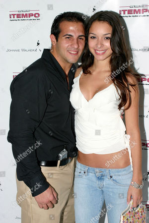 Frank Ferraro and Jessica Caban