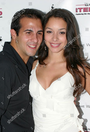 Frank Ferraro and Jessica Caban
