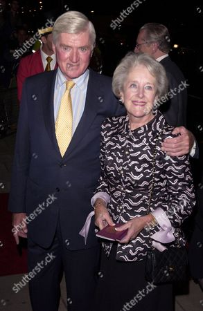 Stock Photo of Cecil Parkinson and wife Anne