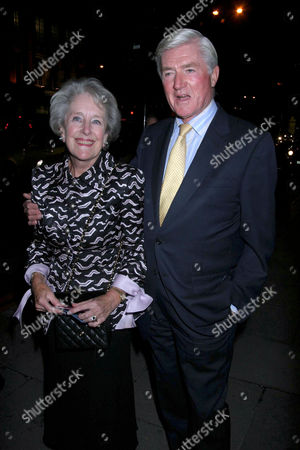 Stock Picture of Cecil Parkinson and wife Anne