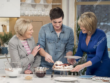 Mary Berry, Donal Skehan, Ruth Langsford