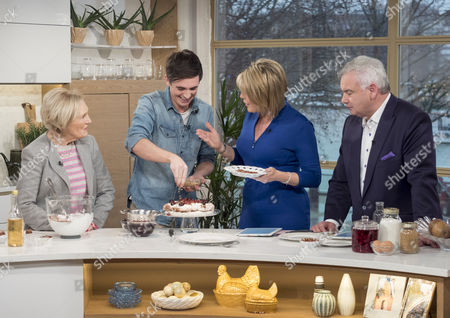 Stock Picture of Mary Berry, Donal Skehan, Ruth Langsford and Eamonn Holmes