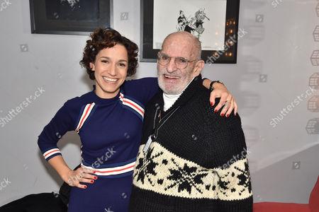 Catie Lazarus, Larry Kramer