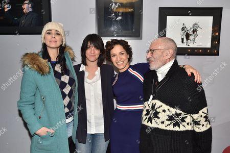 Sarah Silverman, Sharon Van Etten, Catie Lazarus, Larry Kramer
