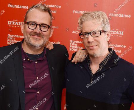 Stock Image of Morgan Neville and Eddie Schmidt