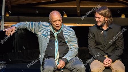 Quincy Jones and Alan Hicks